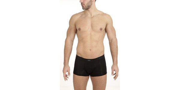 Pánske čierne boxerky QBO