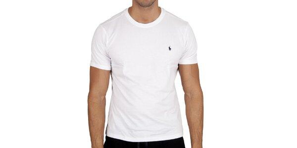 Pánske biele tričko Polo Ralph Lauren