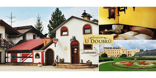 Pobyt s ochutnávkou vín na Morave