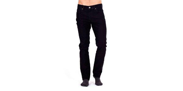e8b2202293a3 Luxusné pánske oblečenie pre náročných Galvanni. Táto kampaň už skončila.  Pánske čierne nohavice s červeným prešívaním Galvanni