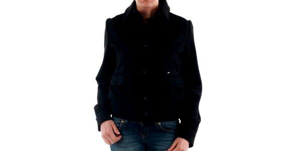 Dámska krátka čierna bunda Amy Gee