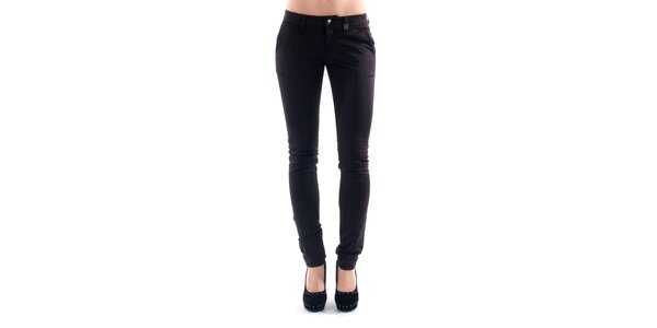 Dámske tmavo fialové nohavice Amy Gee
