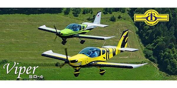 Zoznamovací let lietadlom Viper SD-4
