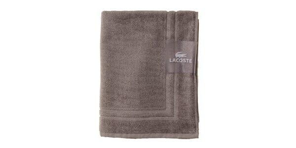 Šedá kúpeľňová predložka Lacoste