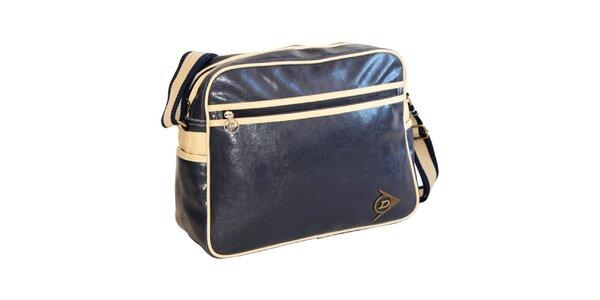 Tmavo modrá taška cez rameno Dunlop