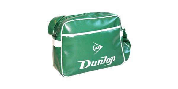 Zelená taška cez rameno Dunlop