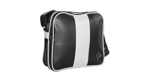 Originálna čierna športová taška Dunlop
