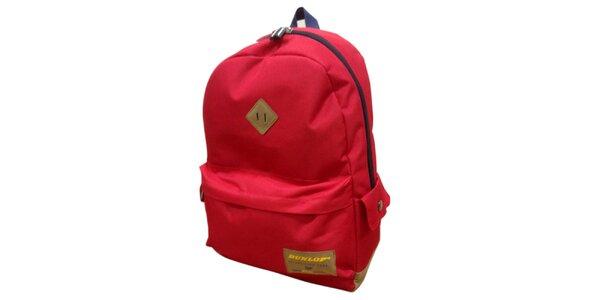 Červený ruksak Dunlop