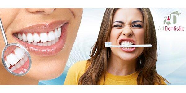 Dentálna hygiena a ZOOM bielenie