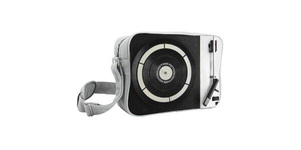 Čierna taška s gramofónom Kothai