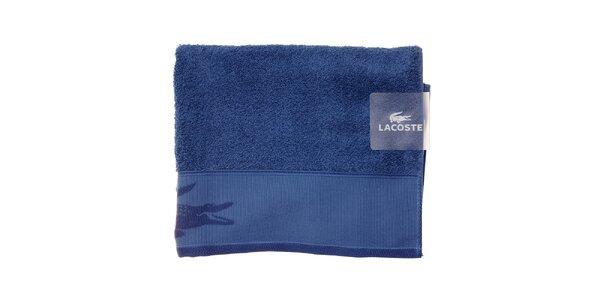 Väčší modrý uterák Lacoste