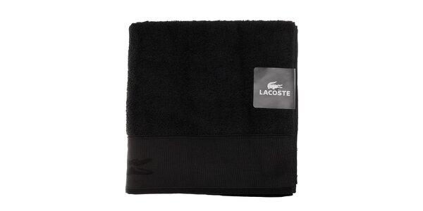 Čierna osuška Lacoste