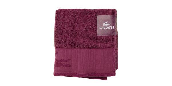 Ametystový uterák Lacoste