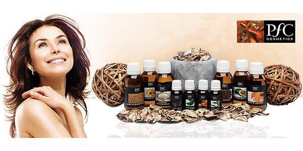 100 % prírodné a liečivé BIO oleje