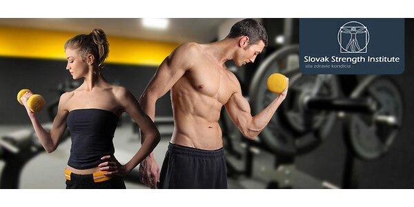 2 vstupy do fitness Slovak Strength Institute v Bratislave