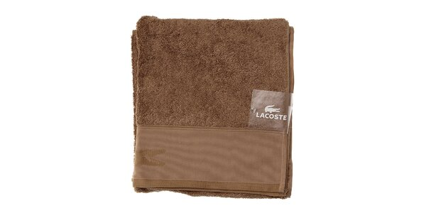 Väčší bavlnený uterák Lacoste