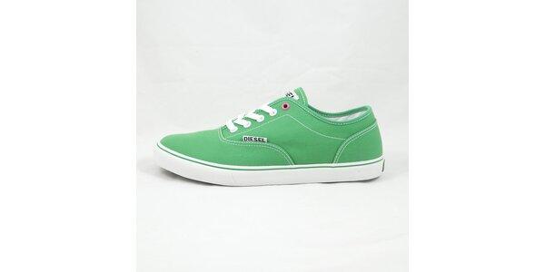 Pánske zelené tenisky Diesel