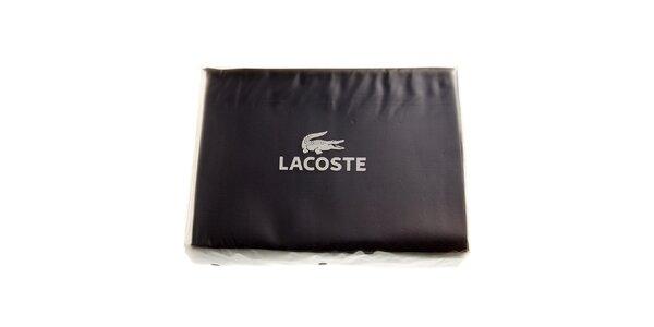 Temně modrý set posteľného prádla Lacoste v prevedení bavlnený satén