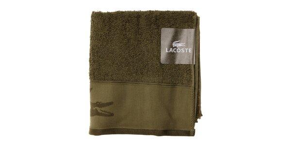 Machovo zelený uterák Lacoste