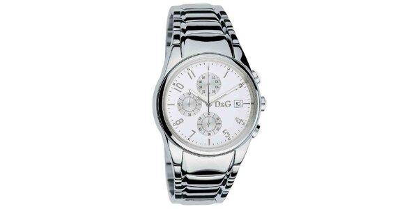Pánske hodinky z nerezovej ocele Dolce & Gabbana
