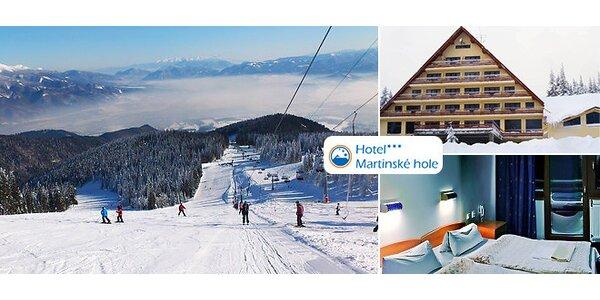 Pobyt pre lyžiarov Hotel Martinské hole