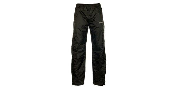 Pánske čierne šusťákové nohavice Loap