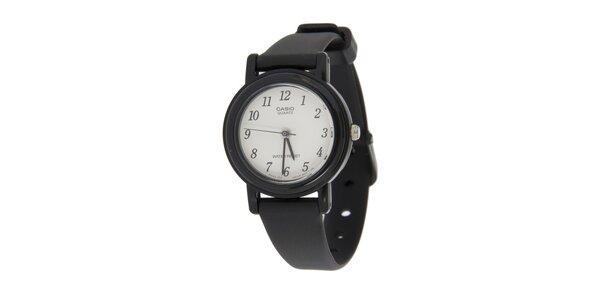 Dámske čierne hodinky Casio