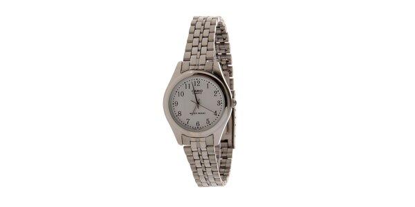 Dámske oceľové hodinky Casio