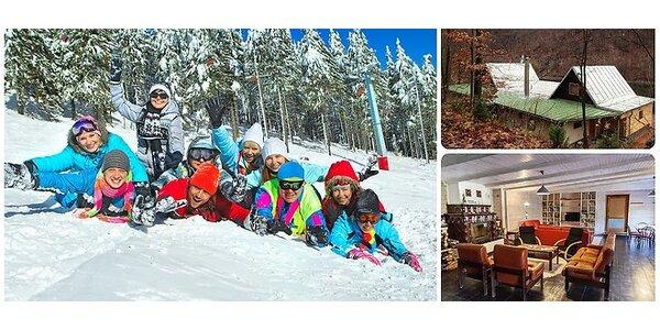 Zimný pobyt na 3 / 4 noci spojený s lyžovačkou na Chate Marica pri stredisku…