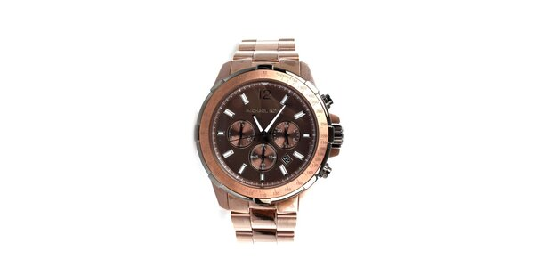 Pánske bronzové hodinky Michael Kors