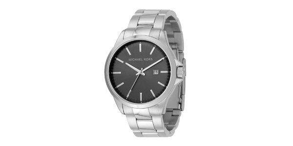 Pánske oceľové hodinky s dátumovkou Michael Kors