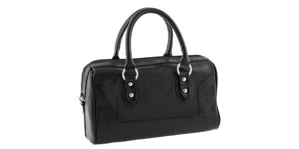 Dámska čierna kufríková kabelka Classe Regina