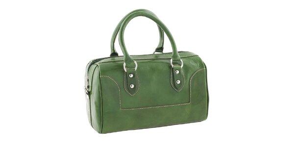 Dámska zelená kufríková kabelka Classe Regina