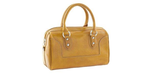 Dámska žltá kufríková kabelka Classe Regina