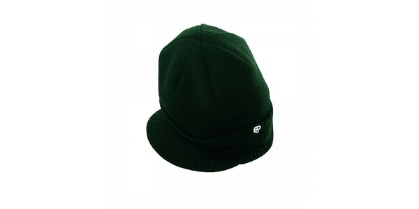 Pánska tmavo zelená čiapka Fundango so šiltom