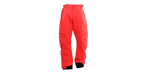 Pánske malinové funkčné nohavice Fundango