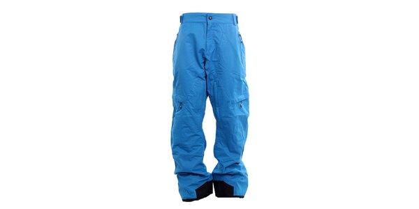 Pánske blankytno modré funkčné nohavice Fundango