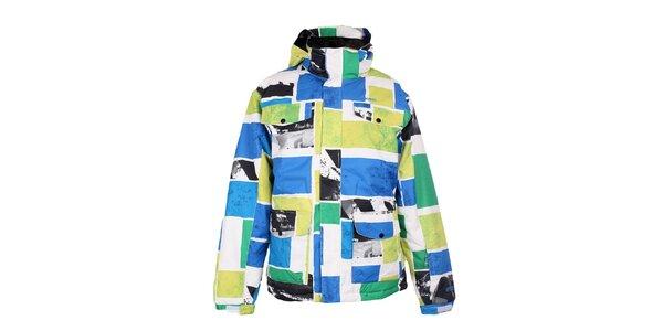 Pánska farebná funkčná zimná bunda Fundango