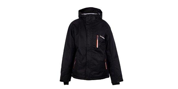Pánska čierna funkčná bunda Fundango