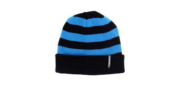 Pánska modročierna čiapka Fundango
