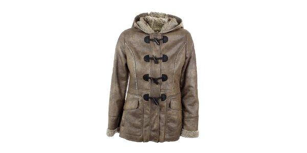 Dámsky vlnený kabátik s kapucňou Company&Co