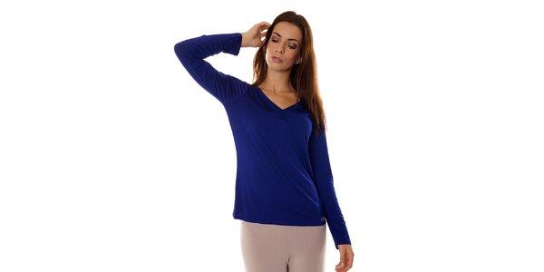 Dámsky tmavo modrý pyžamový top Calvin Klein