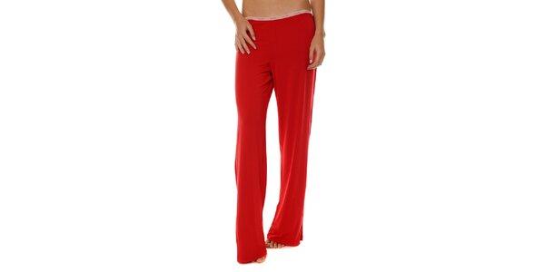 Dámske červené pyžamové nohavice Calvin Klein