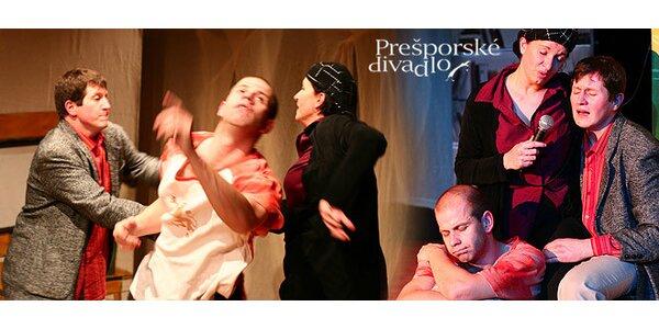 Piatkový večer v náručí kultúry! Komédia Konkurz v Prešporskom divadle