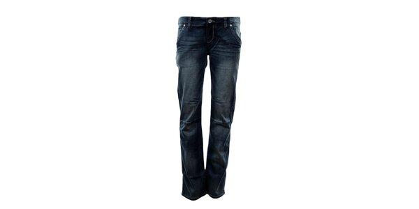 Dámske rovné modré džínsy Exe Jeans