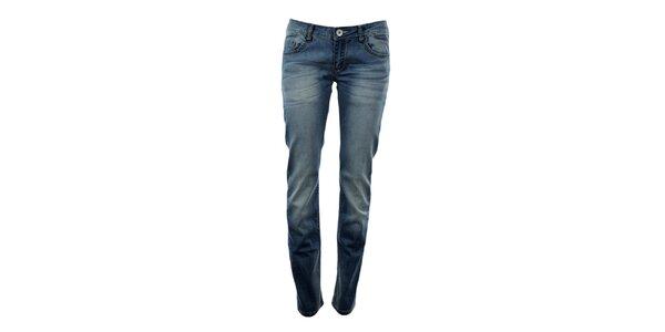 Dámske modré boyfriend džínsy Exe Jeans