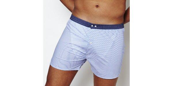 Pánske svetlo modré boxerky Color Code