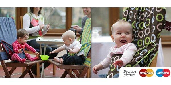 Najpraktickejšia detská sedačka BABYBELT