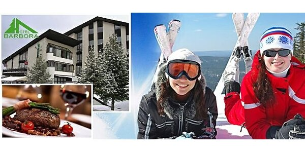 Hotel Barbora*** a ski stredisko Bačova Roveň***