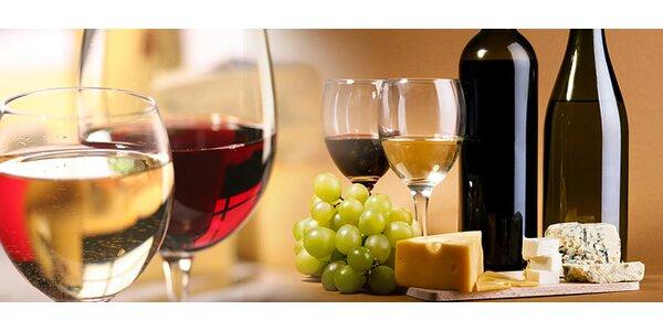 Ochutnávku slovenských vín spojená s ochutnávkou syrov, destilátov a praliniek